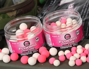 Mainline Fluro Pop Ups Pink & White 8mm/ 14mm