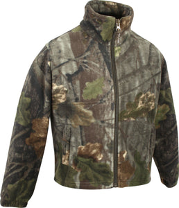 Jack Pyke Junior Fieldman Fleece Jacket - English Oak Evolution