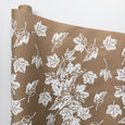 Maple Leaf Wrapping Paper - White