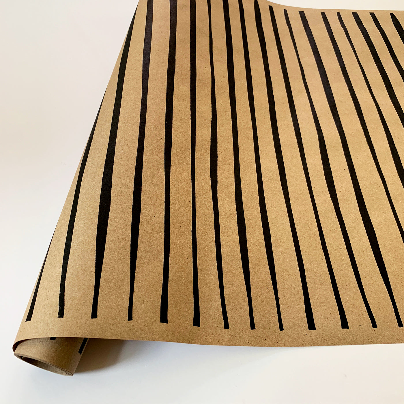Striped Paper - Black