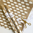 Oak Leaf Paper - White