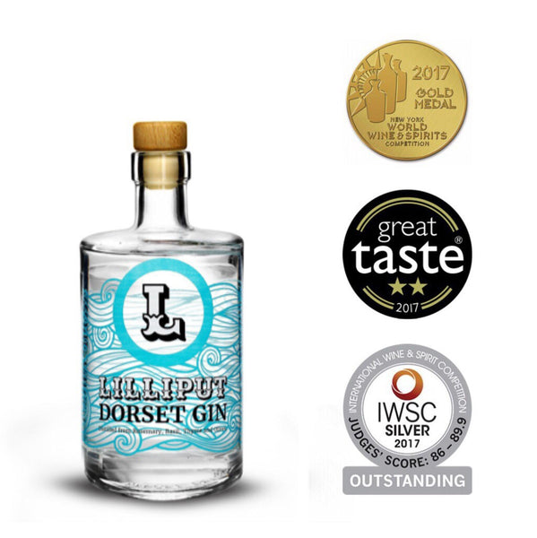 Lilliput Dorset Gin 200ml / 20cl