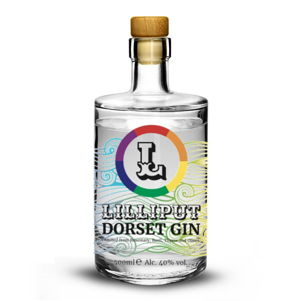 Lilliput Dorset Gin 500ml Limited Edition