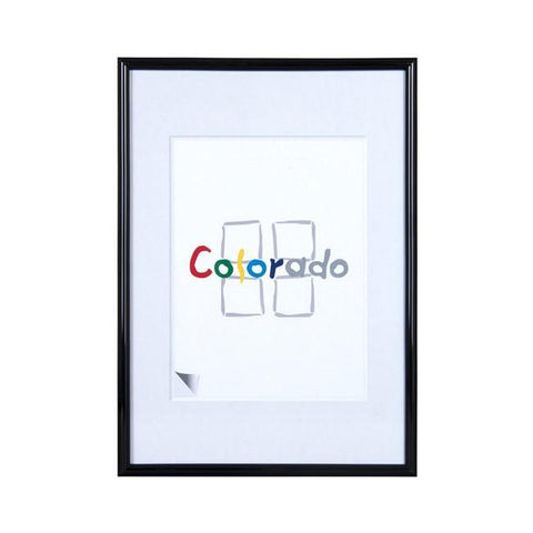 A3 Plastic Picture Frames | Nielsen Colorado - Black - TRADEframes.co.uk