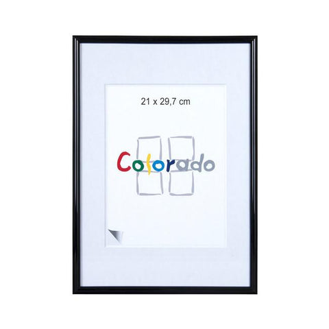 A2 Picture Frames | A2 Nielsen Colorado Plastic Frames- Black - TRADEframes.co.uk
