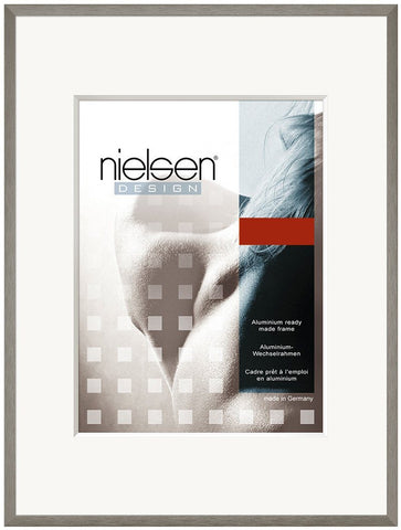 Nielsen C2 Soft Grey Photo Frames - Great Prices