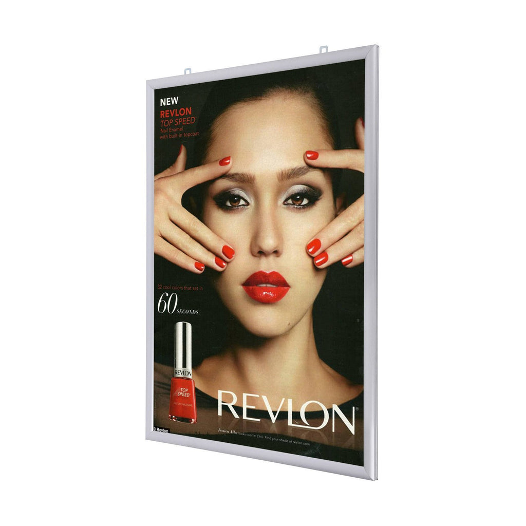 "Double Sided Snapframe 25mm with Rounded Corners 30x40"" (twinpack) - Trade Frames"