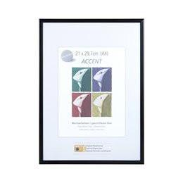 Nielsen Accent Matt Black A4 Photo Frame - Trade Frames
