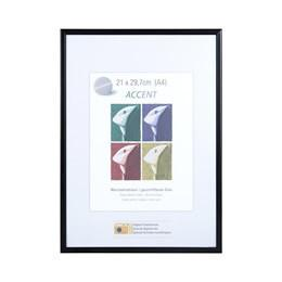 A3 Poster Frame Nielsen Accent Matt Black - Trade Frames