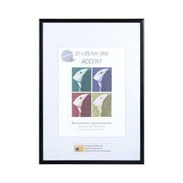 A1 Poster Frame Nielsen Accent Matt Black - Trade Frames