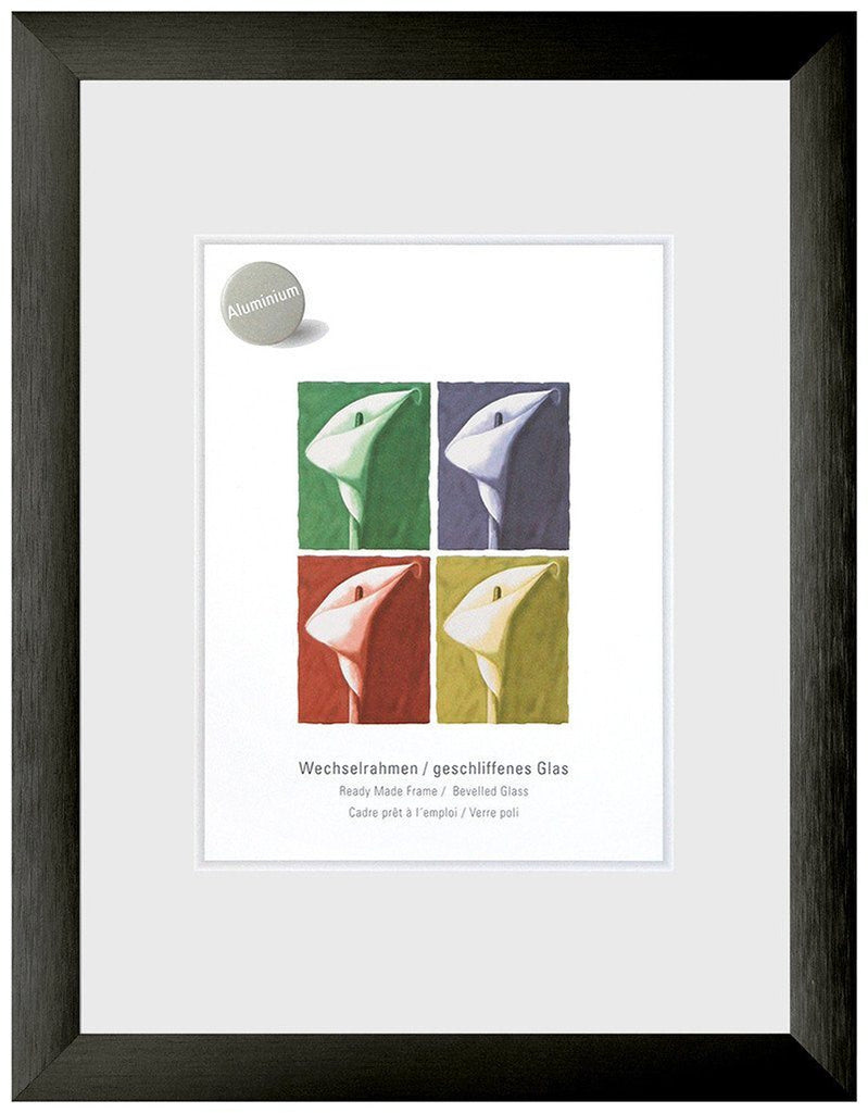 Largo Brushed Black 24 x 30 cm - Trade Frames