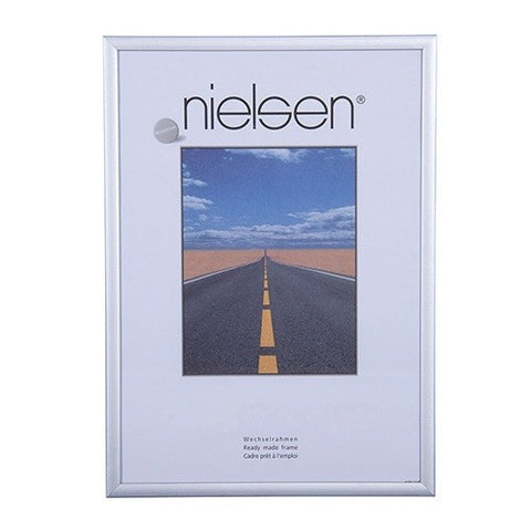 Nielsen Largo A2 Brushed Silver Wide Aluminium Poster Frames