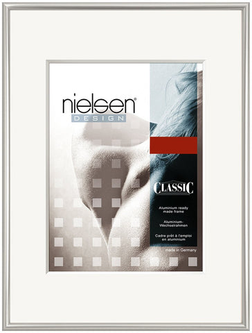 Nielsen Classic Polished Silver Picture Frames - quality frames