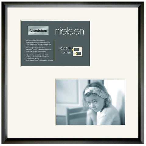 Nielsen Gallery Matt Black Frame & Mount