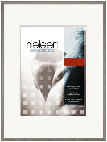 Nielsen C 2 'Soft' Grey Picture Frames
