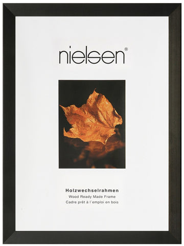 Nielsen Essentielles Black Wooden Picture Frames