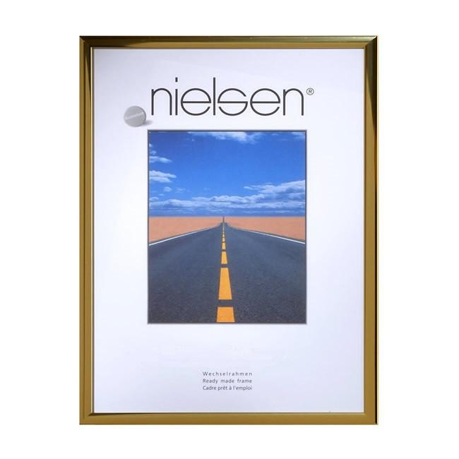 Nielsen Pearl Polished Gold A4/ 21 x 29.7 cm - Snap Frames