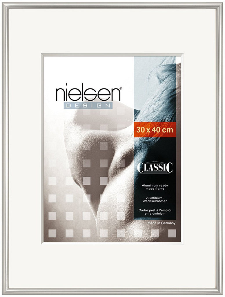 Classic Polished Silver 30 x 40 cm - Snap Frames
