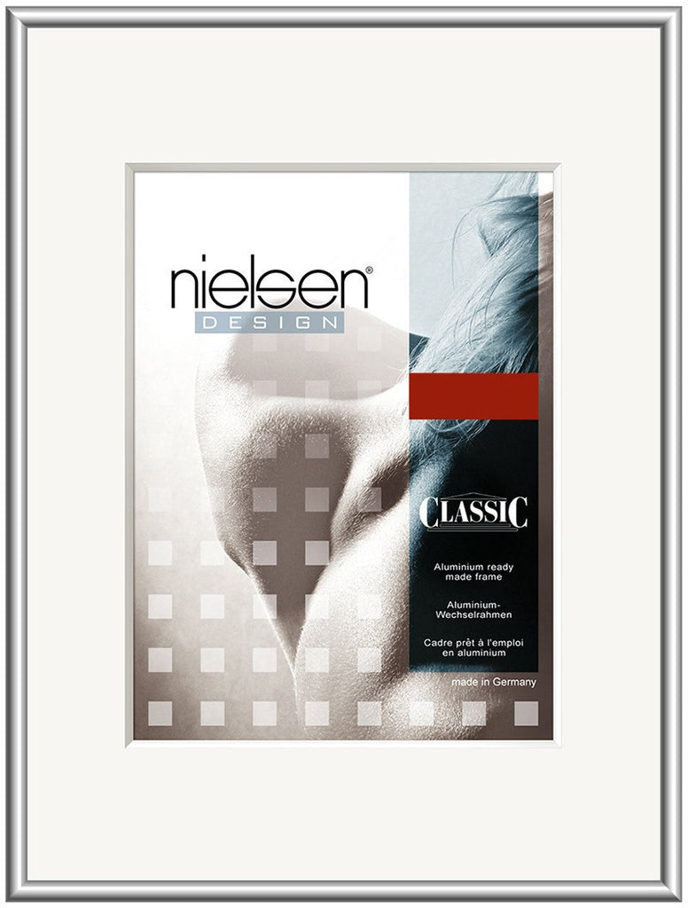 Classic Frosted Silver 60 x 80 cm - Snap Frames