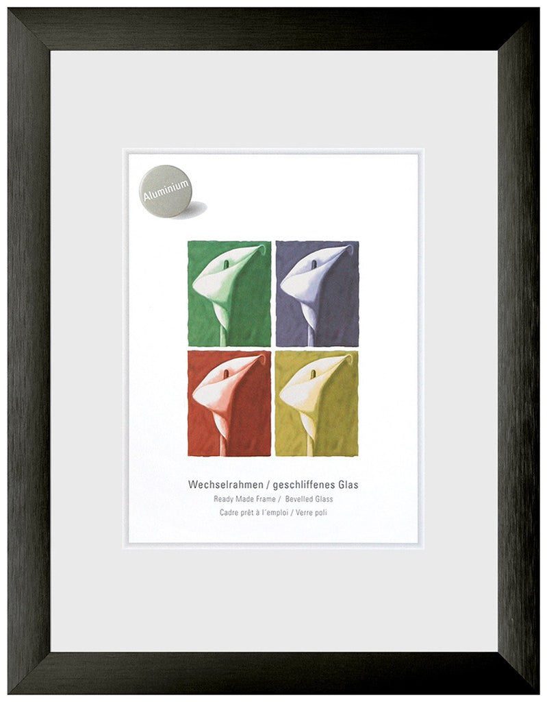 Largo Brushed Black 50 x 60 cm - Snap Frames
