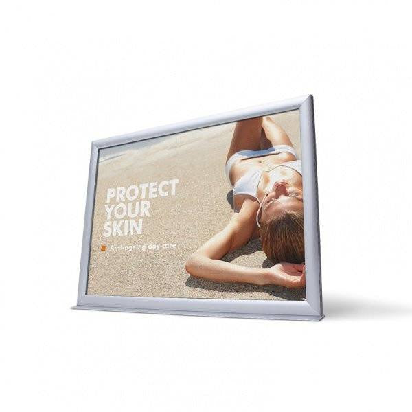 Infotopper- Double Sided- Weather resistant A4 profile 20mm - Snap Frames