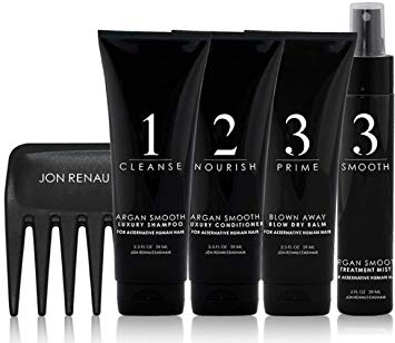 Human Hair Care System - 5 Piece TRAVEL Kit | by Jon Renau