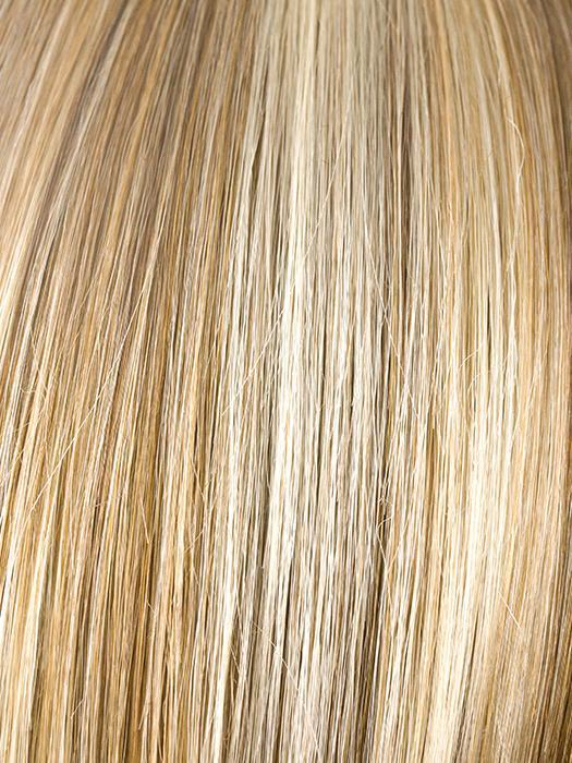 CREAMY TOFFEE | Dark Blonde Evenly Blended with Light Platinum Blonde and Light Honey Blonde