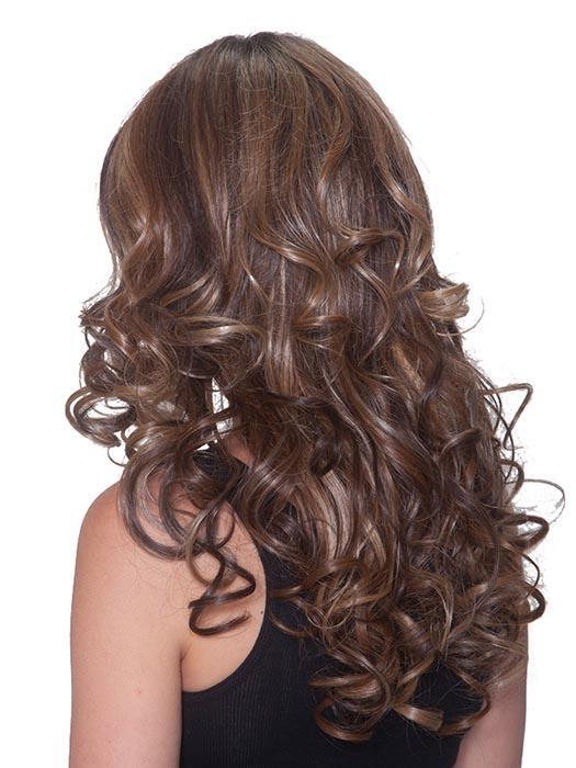 French Curl | SALE 30% | DISCONTNUED | Synthetic Lace Front Wig by Belle Tress | Mocha w/ Cream
