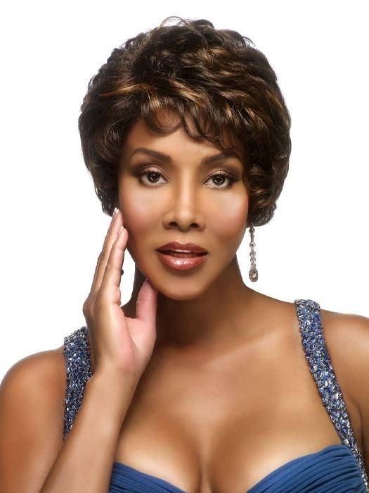 Francyne | Synthetic Wig (Mono Top) by Vivica A Fox (DISCONTINUED - LIMITED STOCK)