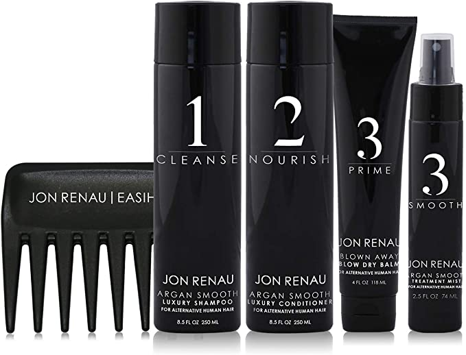 Human Hair Care System - 5 Piece Kit | Jon Renau