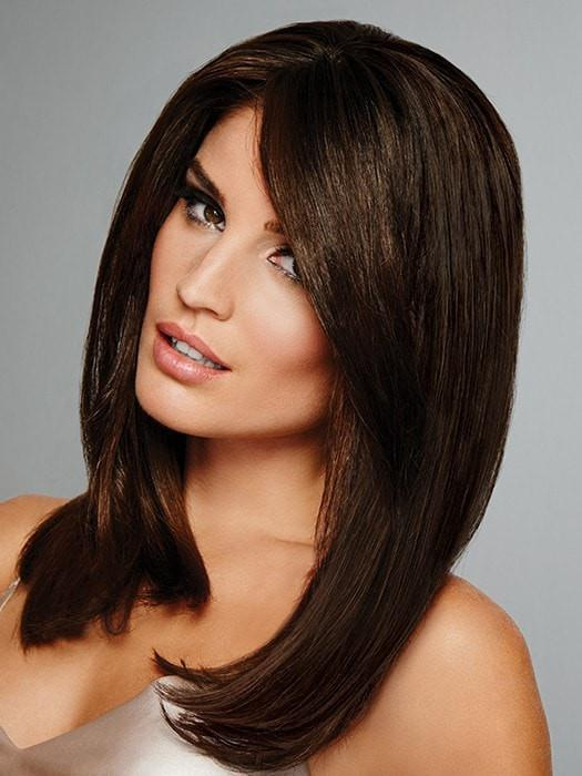 Indulgence | Remy Human Hair Topper (Hand-Tied) Wig by Raquel Welch