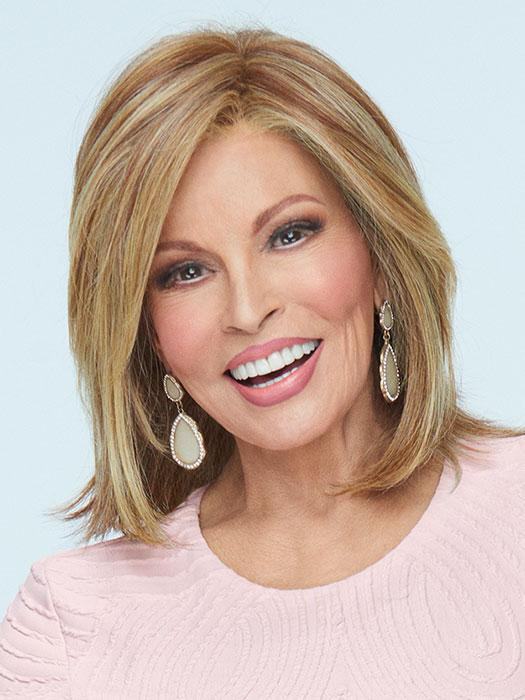 Big Time | Heat Friendly Synthetic Lace Front (Mono Top) Wig by Raquel Welch