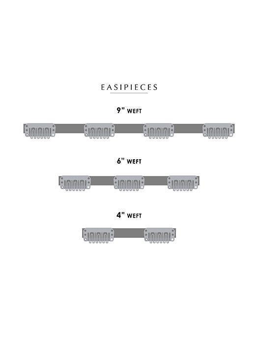 "easiPieces | Remy Human Hair | Hair Piece 12"" Long x 4"" Wide (1 PIECE) by Jon Renau"