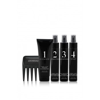 Synthetic Fibre Care System - 5 Piece Travel Kit by Jon Renau