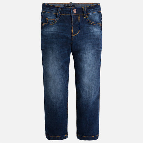 Mayoral boy denim long trousers slim fit