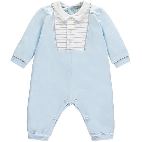 EMILE ET ROSE MILES BLUE BABY BOYS SMART ALL IN ONE
