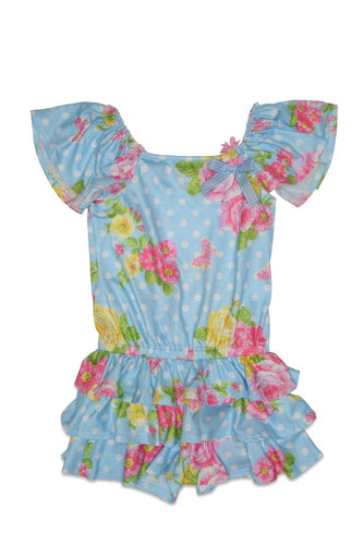 Kate Mack Garden Roses Playsuit