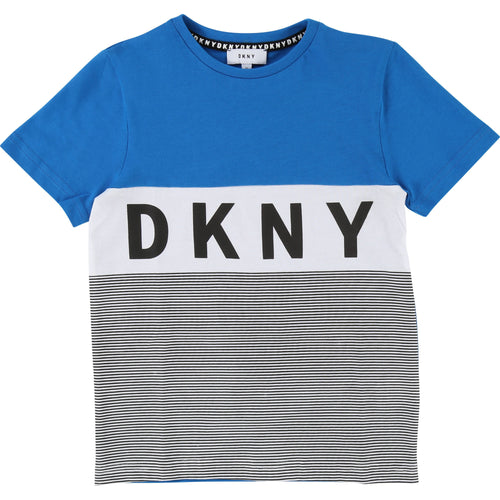 DKNY T-Shirt Blue/White/Black