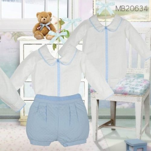 Pretty Originals Pale Blue Pant Set