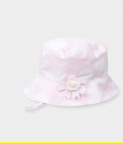 Tutto Piccolo Baby Girls Polka Dot Sun Hat