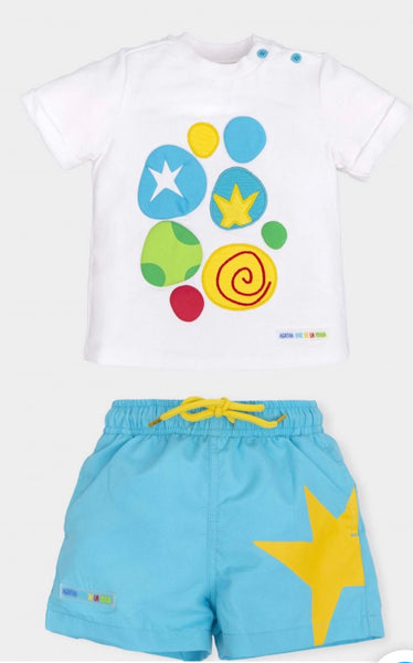 Agatha Ruiz De La Prada Boys Short Set