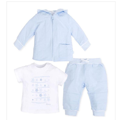 Tutto Piccolo Boys Pale Blue Tracksuit