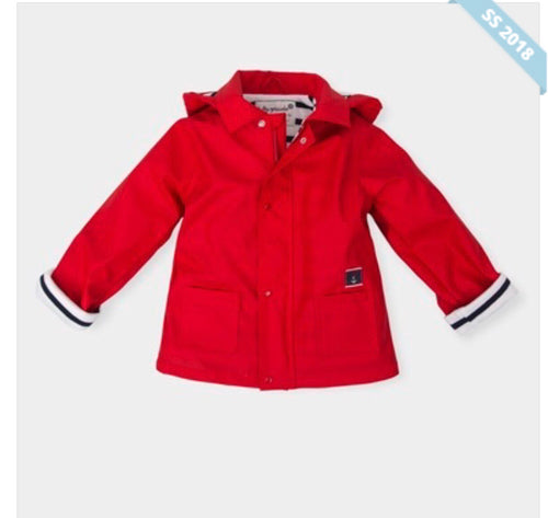 Tutto Piccolo Red Raincoat