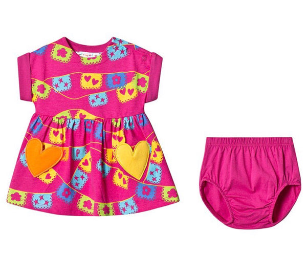 Agatha Ruiz De La Prada Baby Dress With Bloomers