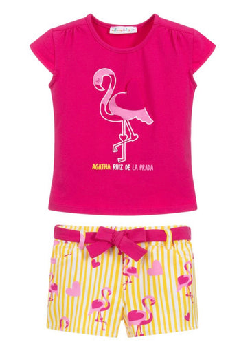 Agatha Ruiz De La Prada Girls Shorts Set