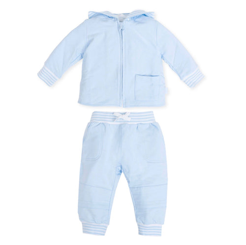 Tutto Piccolo 2 Piece Track Suit Pale Blue