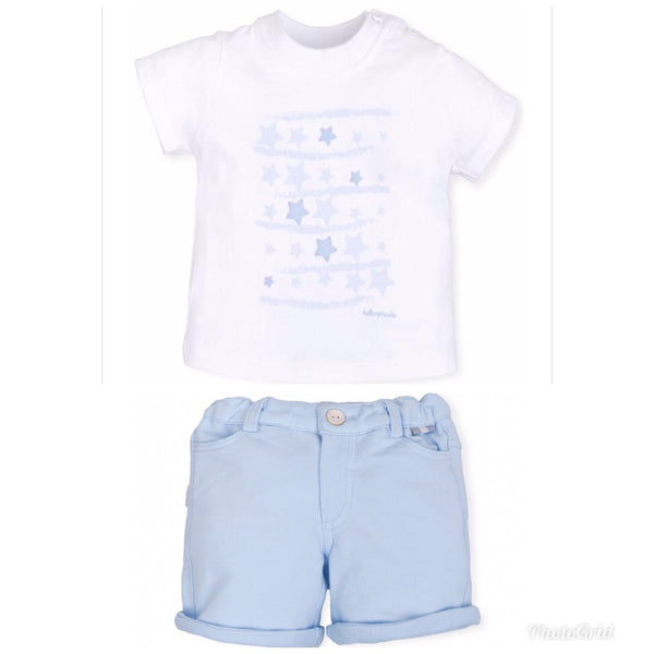 Tutto Piccolo Boys 2 Piece Short Set