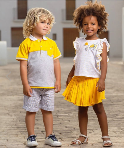 Tutto Piccolo Boys Cotton Top and Short Set