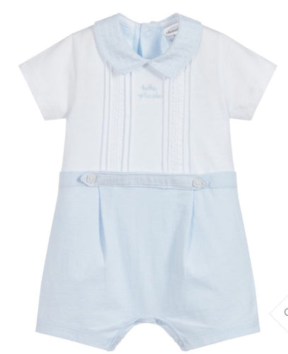 Tutto Piccolo Babys Boys Blue Cotton Shortie