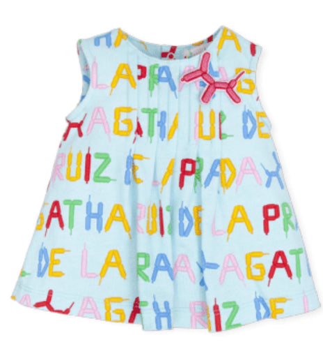 Agatha Ruiz De La Prada Aquamarine Dress